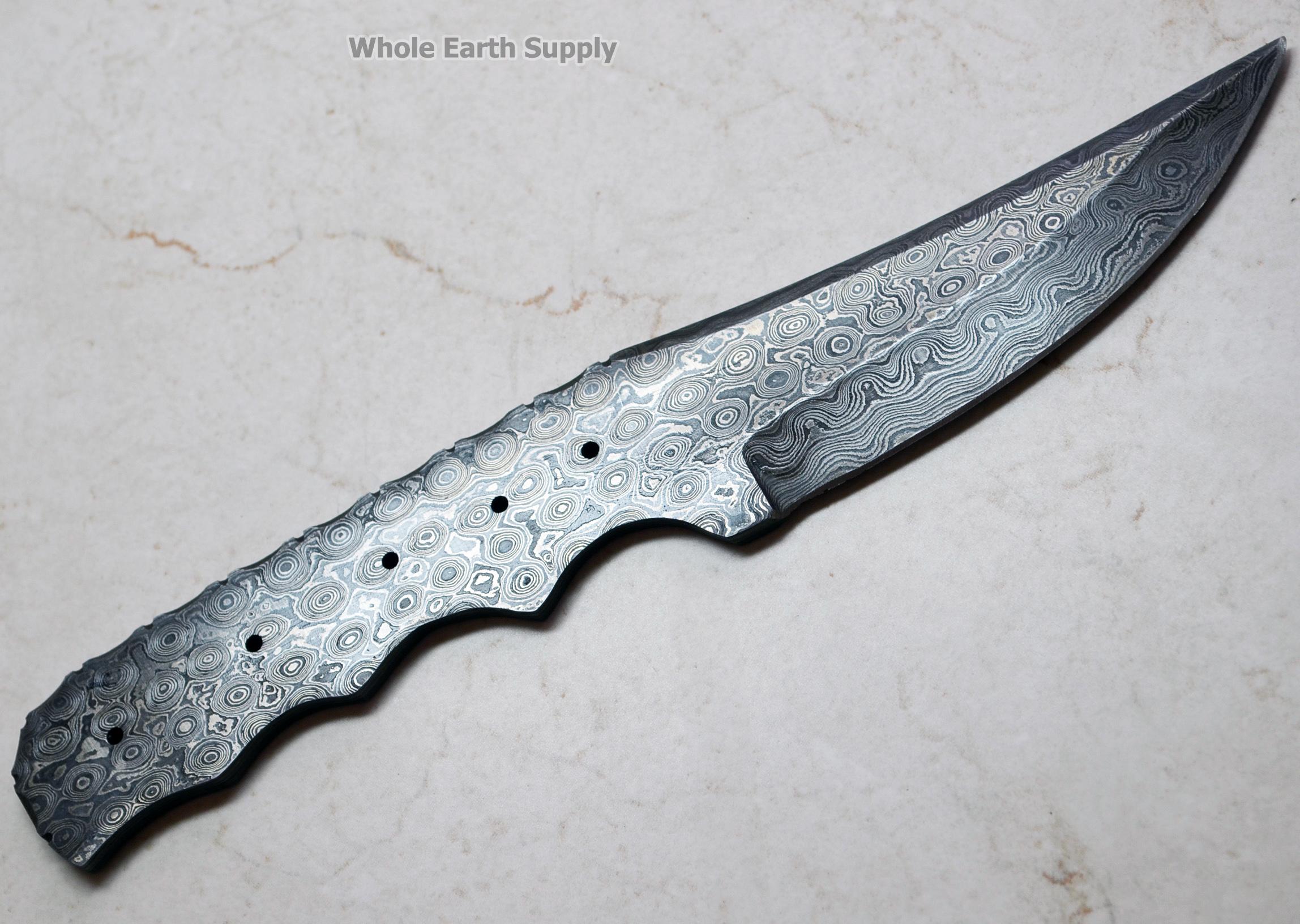 Damascus Blade Blanks Damascus Knife Blank Making